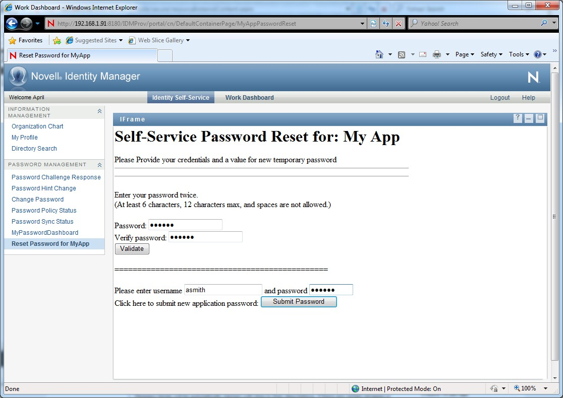 UserApp Add-on, App Password Reset - Micro Focus Community