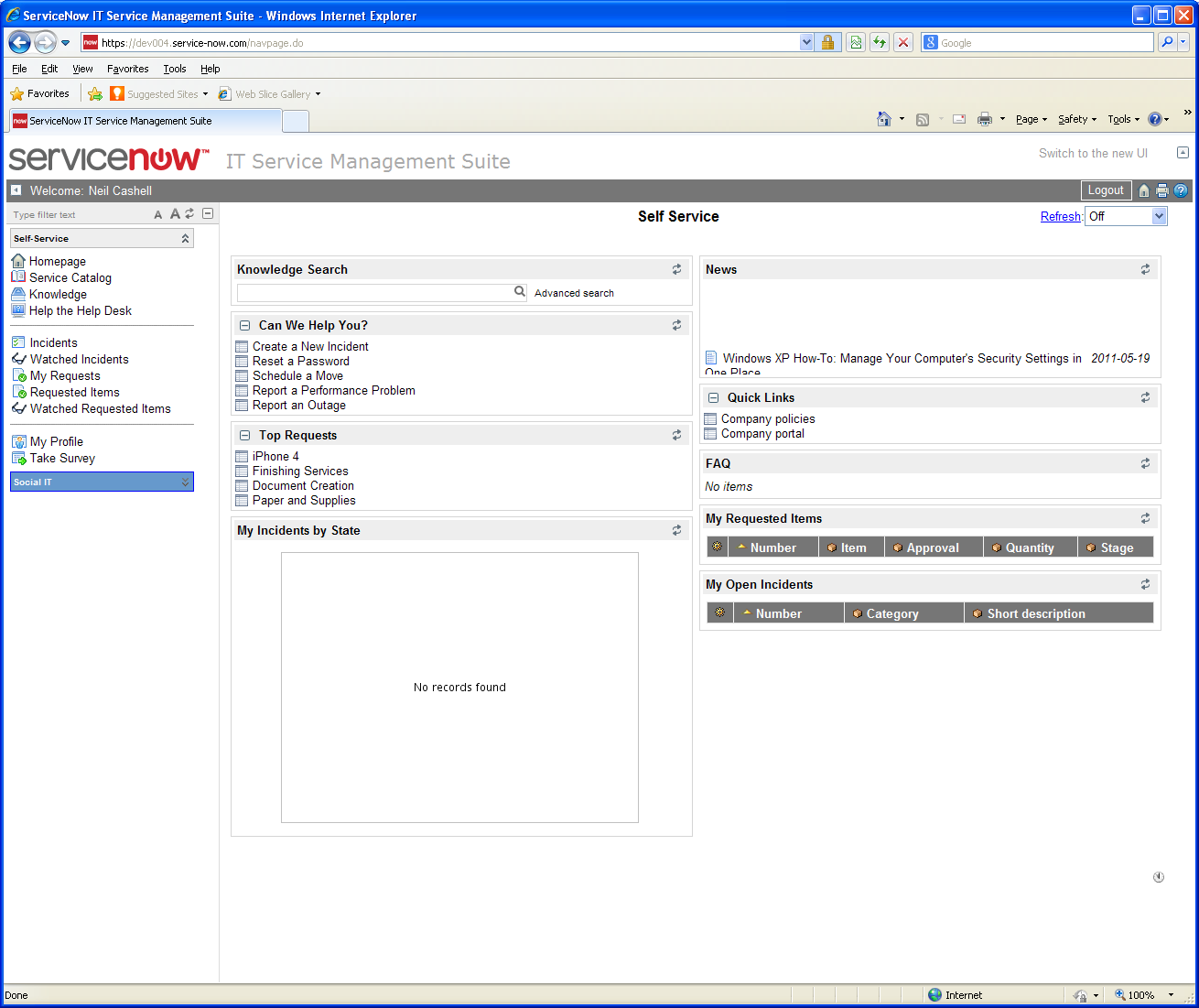How to Integrate NetIQ Access Manager with ServiceNow IT Service
