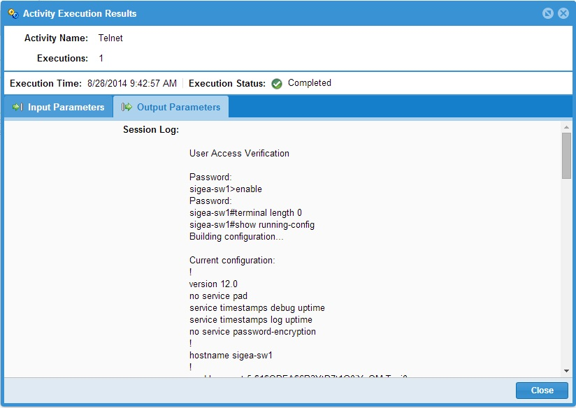 Aegis Automation Workflows in 5 Minutes - Backup Running