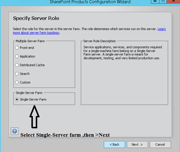 Sharepoint config