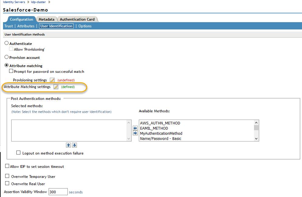 Configure NAM Identity Server (NetIQ IDP) as a Service Provider