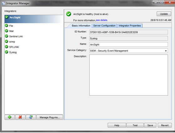 Forwarding Events from Sentinel or Access Manager Analytics Server