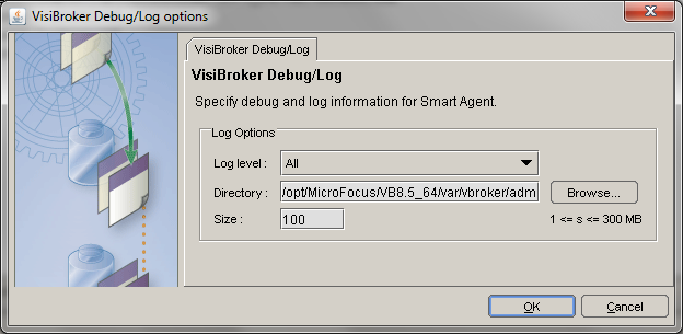 Smart Agent Debug Log Configuration Wizard