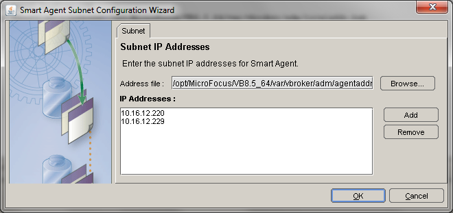 Smart Agent Subnet Configuration Wizard