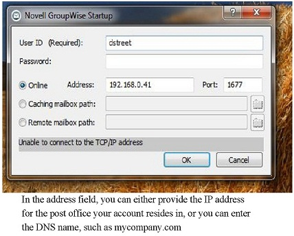 Using/Accessing GroupWise from home - Micro Focus Community - 1780377